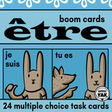 Être: French BOOM Cards for Distance Learning