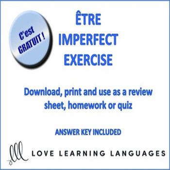 Être Imperfect Exercise - l'Imparfait