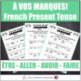Être, aller, avoir, faire -  Present tense conjugation practice