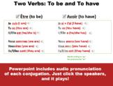 Être et Avoir Conjugation / Expressions - Etre and Avoir P