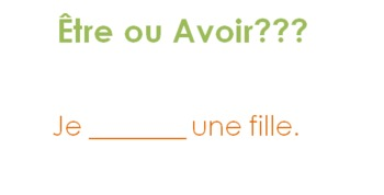 Être and Avoir PPT review game