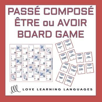 Être ou Avoir - Passé Composé Board Game