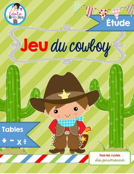 Étude-Jeu du cowboy (tables)
