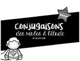 Étude - conjugaisons des verbes cinquième année