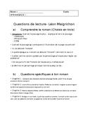 Étude de roman: Léon Maigrichon