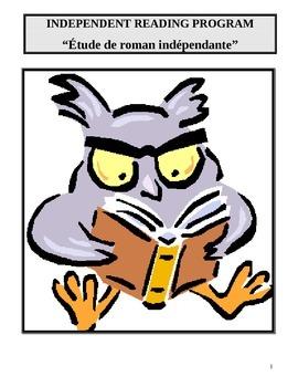 Etude de roman indépendant (français et anglais) - Independent Novel Study