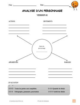 Lecture, plan général, French Immersion (#148)