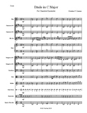 Etude in C for Chamber Ensemble