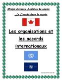 Etudes sociales 6e année le Commerce: Les organisations/accords internationaux