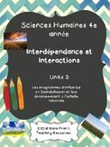 Études sociales de 4e année   Unite 3  French Immersion
