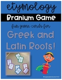 Etymology Branium: Fun Game for Greek and Latin Roots!