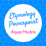 Etymology PowerPoint Aqua and Hydra