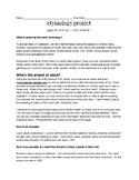 Etymology Project