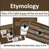 Etymology: Video, PowerPoint, Notes, & Quizzes - Distance