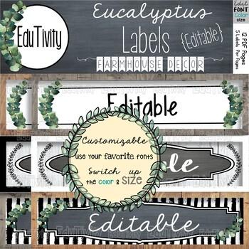 Classroom Labels Editable Pdf Worksheets & Teaching