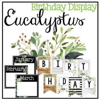 Eucalyptus - Farmhouse Birthday Display