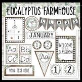 Farmhouse Eucalyptus Classroom Decor Bundle