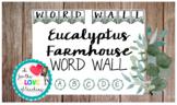 Eucalyptus Farmhouse Word Wall pack