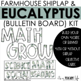 Eucalyptus Shiplap Board Kit (Objective Board)   Classroom Decor