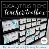 Eucalyptus Teacher Toolbox (EDITABLE)