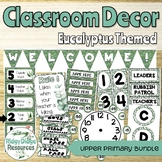 Eucalyptus Themed Classroom Decor for Upper Primary