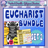 Eucharist Bundle Set 2 ~ Task Cards, Writing Templates, First Communion