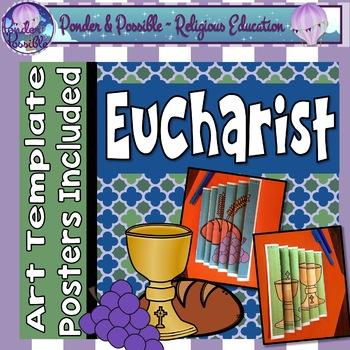 Eucharist {First Communion} Art Template