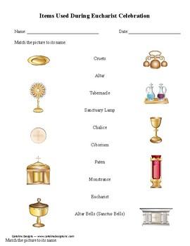 Eucharist Mass Items