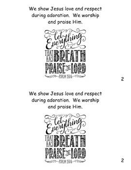 Eucharistic Adoration booklet