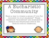 Eucharistic Community:  Classroom Ministries for the Catho