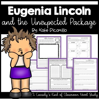 Eugenia Lincoln and the Unexpected Package Novel Study