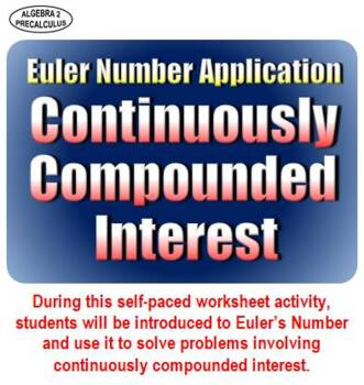 Euler Number Application: Continuously Compounded Interest by Carl ...