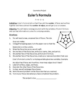 Euler's Formula Project