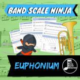 Euphonium Scale Ninja (Bass Clef)