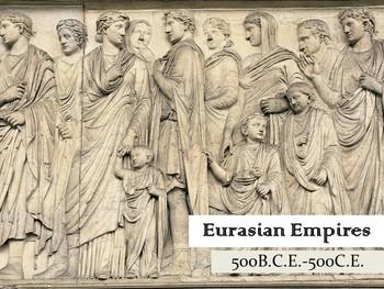Eurasian Empires; The Classical Era, Ancient Rome, Persia, Greece, China