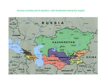 Eurasian Republics Power Point