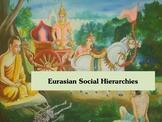 Eurasian Social Hierarchies, the caste system, slavery, pa