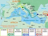 Eurasian Trade Routes PowerPoint Presentation and Activity Guide