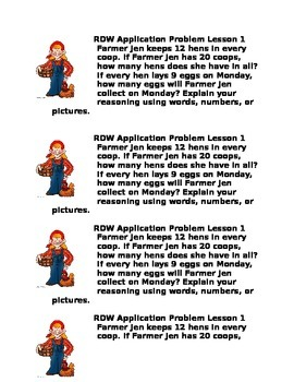 Eureka Application Problem Module 1 Lesson 1
