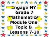 Eureka CCMS Grade 7 Mathematics Module 1, Topic B, Lessons
