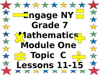 Eureka CCMS Grade 7 Mathematics Module 1, Topic C, Lessons 11-15ppt