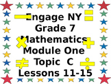 Eureka CCMS Grade 7 Mathematics Module 1, Topic C, Lessons
