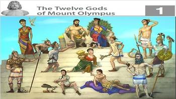 Eureka ELA Engage NY 2nd Grade Unit 4 Greek Myths (20 powerpoints)