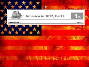 Eureka ELA Engage NY 2nd Grade Unit 5 The War of 1812 (16 powerpoints)