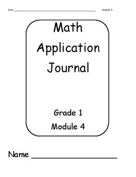 Eureka/ENY Math First Grade Application Problem Journal Module 4