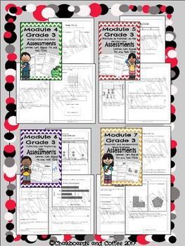 Eureka/Engage NY 3rd Grade Assessment BUNDLE
