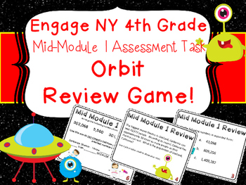 Eureka Engage NY 4th Grade Mid Module 1 Assessment Task Card Review Game