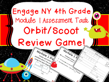Eureka Engage NY 4th Grade Module 1 Assessment Task Card Review Game