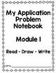 Eureka (Engage NY) Application Problem Notebook Module 1