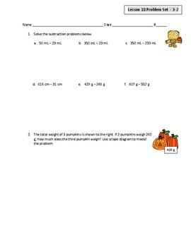 Eureka/Engage NY Grade 3 Module 2 Lessons 18 and 19 Halloween